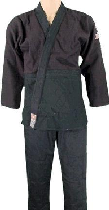 Double Weave Black BJJ Uniform